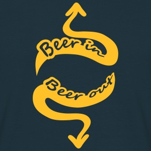 Beer In Beer Out T-Shirts - Männer T-Shirt