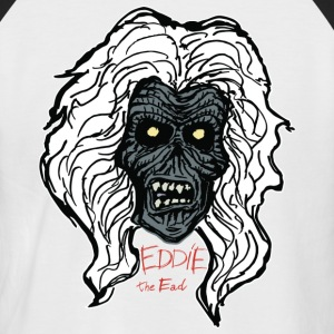 EDDIE   the Ead , New Wave Of Heavy Metal. - Men's Baseball T-Shirt
