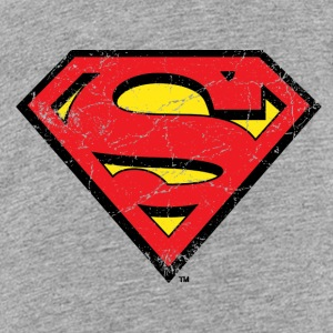 Superman S-Shield Used Look 1 Teenager T-Shirt - Teenager Premium T-Shirt