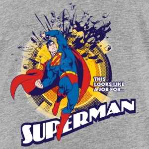 Superman This looks like a job T-shirt tonåring - Premium-T-shirt tonåring