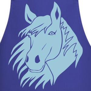 horse pony  cowboy rodeo riding country  Aprons - Cooking Apron