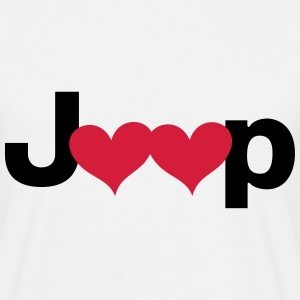 Jeep Love - Autonaut.com - Men's T-Shirt
