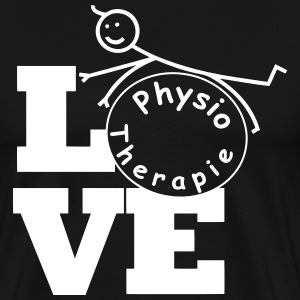 LOVE Physiotherapie  T-Shirts - Männer Premium T-Shirt