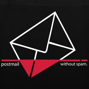 Postmail without spam - Stoffbeutel