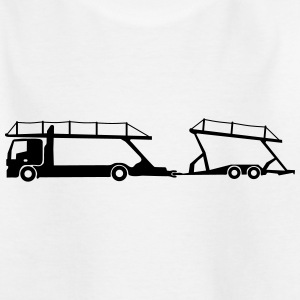 Beförderung Autotransporter_b1 T-Shirts - Teenager T-Shirt