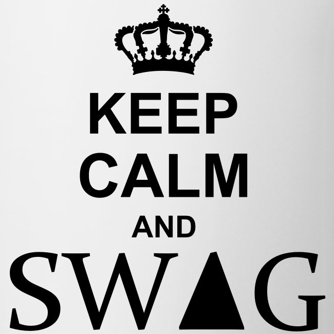 Tazza Keep Calm and Swag