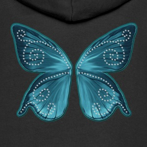 Butterfly wings, fairy, Wonderland, magic Sweaters - Kinderen Premium jas met capuchon