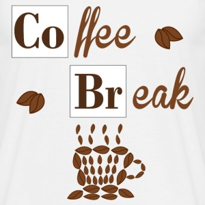 Coffee Break T-shirts - Mannen T-shirt