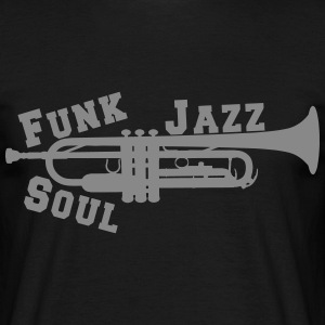 Trompette Jazz Funk Soul Tee shirts - T-shirt Homme