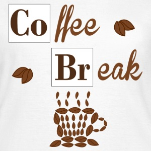 Coffee Break T-shirts - Dame-T-shirt