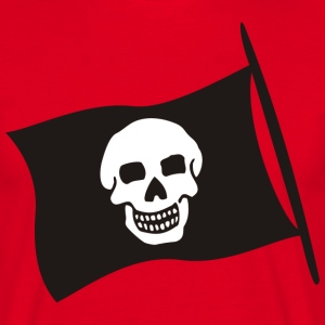 Piratenflagge | B&B Männer - Männer T-Shirt