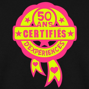 50 ans anniversaire certifie experience Sweat-shirts - Sweat-shirt Homme