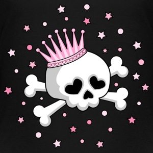 Cute Skull Princess Shirts - Kids' Premium T-Shirt