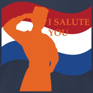 I Salute You - Vrouwen Premium T-shirt