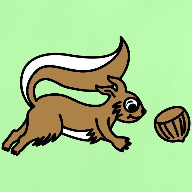 Eichhörnchen - Baby T-Shirt