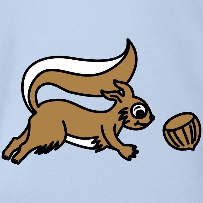 Eichhörnchen - Babybody