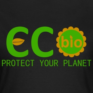 eco bio protect your planet Tee shirts - T-shirt Femme