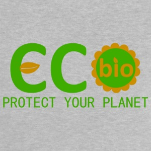 eco bio protect your planet Skjorter - Baby-T-skjorte