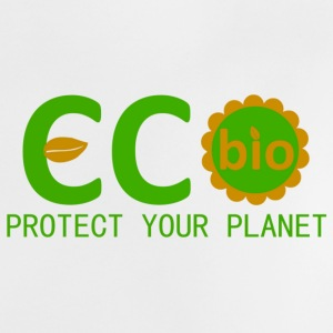 eco bio protect your planet Shirts - Baby T-Shirt