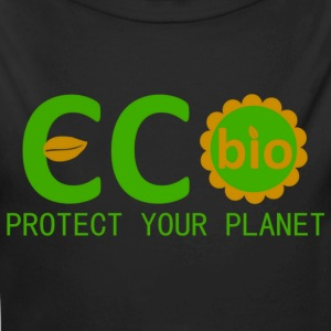 eco bio protect your planet Sweaters - Baby bio-rompertje met lange mouwen