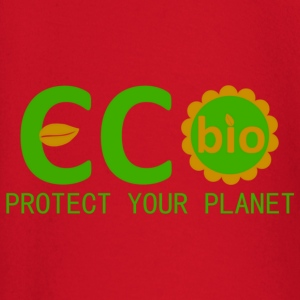 eco bio protect your planet Kinderen & baby's - T-shirt
