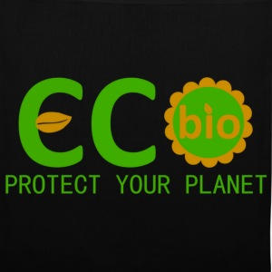 eco bio protect your planet Vesker - Stoffveske