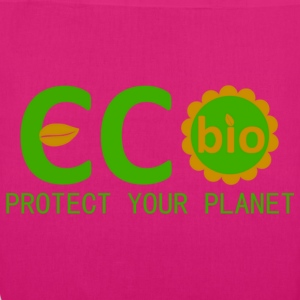 eco bio protect your planet Bags  - EarthPositive Tote Bag