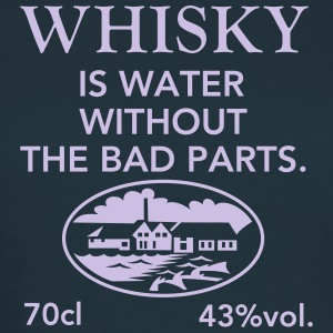 Whisky is water, Label T-shirts - Vrouwen T-shirt