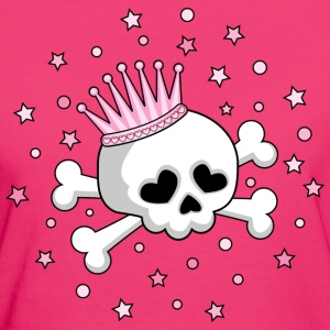 Cute Skull Princess T-Shirts - Women's Organic T-shirt