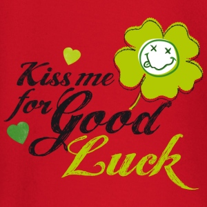 Kiss me for Good Luck Kinder & Babys - Baby Langarmshirt