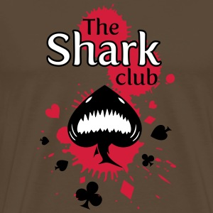 shark club - T-shirt Premium Homme
