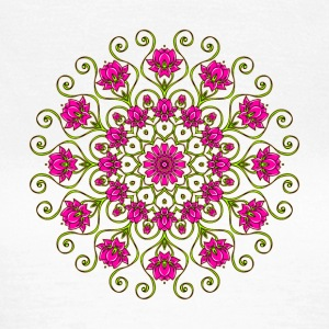 Lotus Blüten Mandala digital I T-Shirts - Frauen T-Shirt
