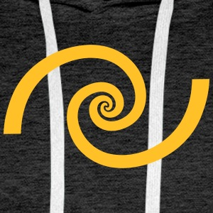 Golden spiral, Fibonacci, Phi, geometry, physics Hoodies & Sweatshirts - Men's Premium Hoodie