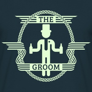 The Groom (1C) T-Shirt - Men's T-Shirt
