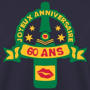 60 ans anniversaire bouteille champagne Sweat-shirts - Sweat-shirt Homme
