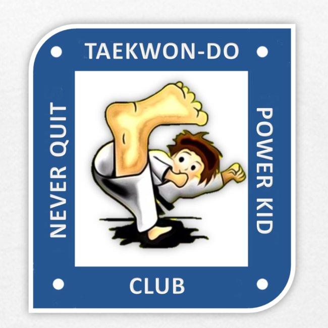 NQPK Traditional Taekwon-Do  t-Shirt orange Kinder 5-10 Jahre