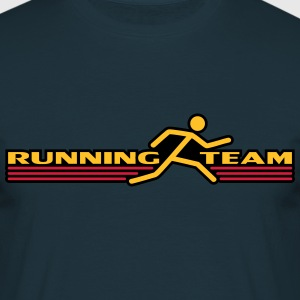 Running Team T-shirts - Mannen T-shirt