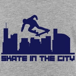 Skate in the city Skjorter - Premium T-skjorte for tenåringer