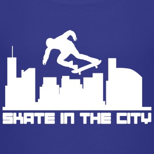 Skate in the city T-shirts - Premium-T-shirt barn