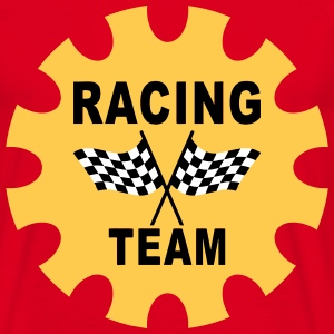 racing team Tee shirts - T-shirt Homme
