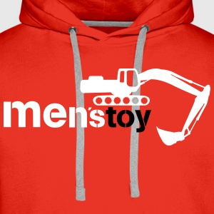 Men toy excavator  Hoodies & Sweatshirts - Men's Premium Hoodie