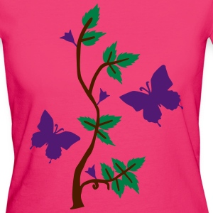 Butterflies in Nature T-Shirts - Women's Organic T-shirt