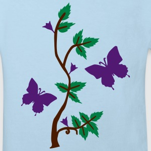 Butterflies in Nature Shirts - Kids' Organic T-shirt