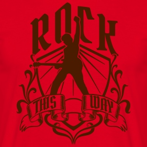 Rock this way T-shirts - Herre-T-shirt