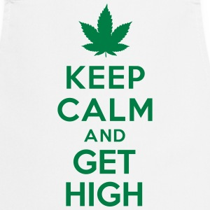 Keep calm and get high Tabliers - Tablier de cuisine