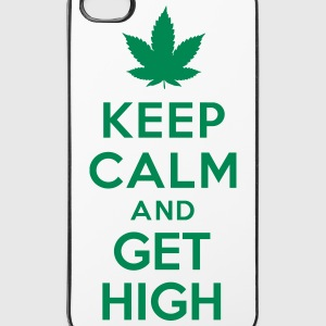 Keep calm and get high Autres - Coque rigide iPhone 4/4s