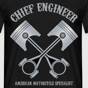 chief engineer T-Shirts - Männer T-Shirt