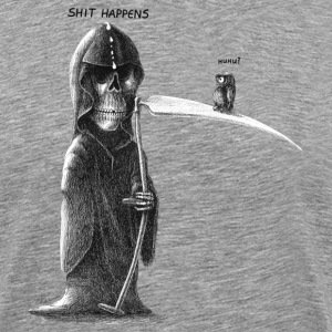 shit happens - Herre premium T-shirt