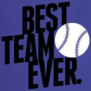 best team ever - baseball Kookschorten - Keukenschort