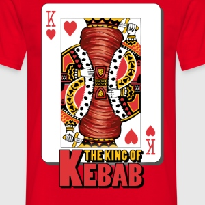 The King Of Kebab (Cotto & Frullato) T-Shirt Uomo - Maglietta da uomo